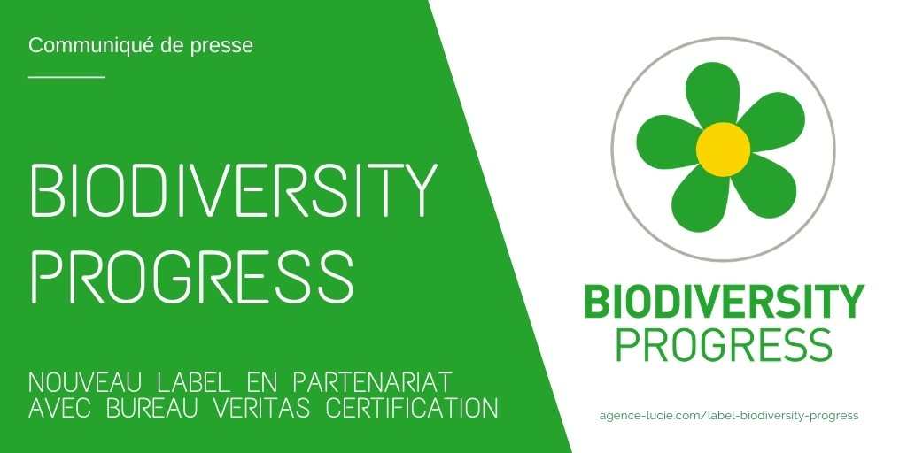 Nouveau label Biodiversity Progress - Agence LUCIE