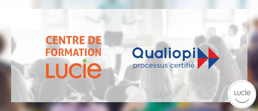 Le Centre de Formation RSE LUCIE obtient la certification Qualiopi