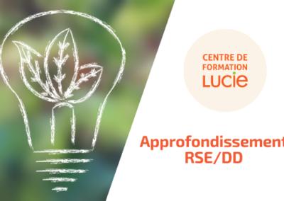 Approfondissement RSE et Développement durable