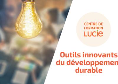 Formation les outils innovants Développement Durable/RSE
