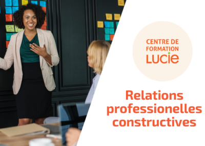 Relations professionnelles constructives