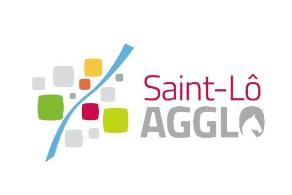 Logo - saint-lo agglomération - Agence LUCIE