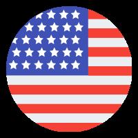 Drapeau USA - Agence LUCIE