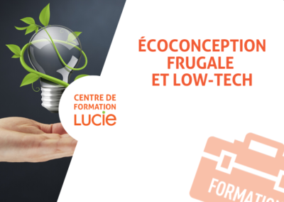 Ecoconception frugale et low-tech