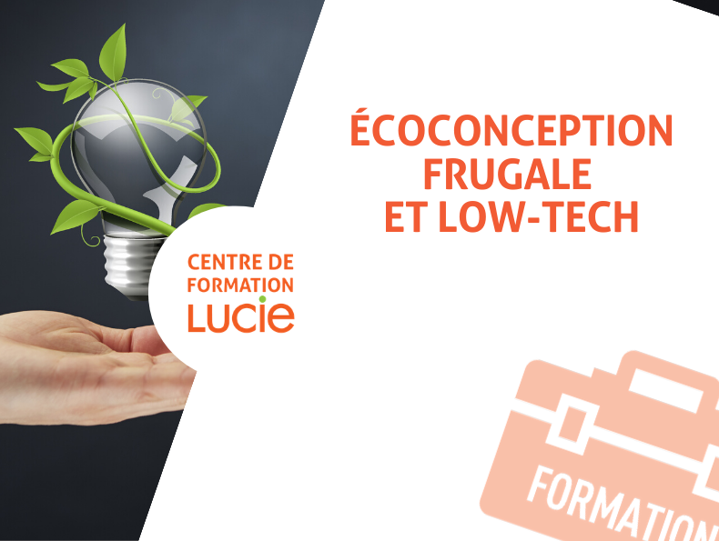 Formation écoconception et low-tech - Goodwill Management