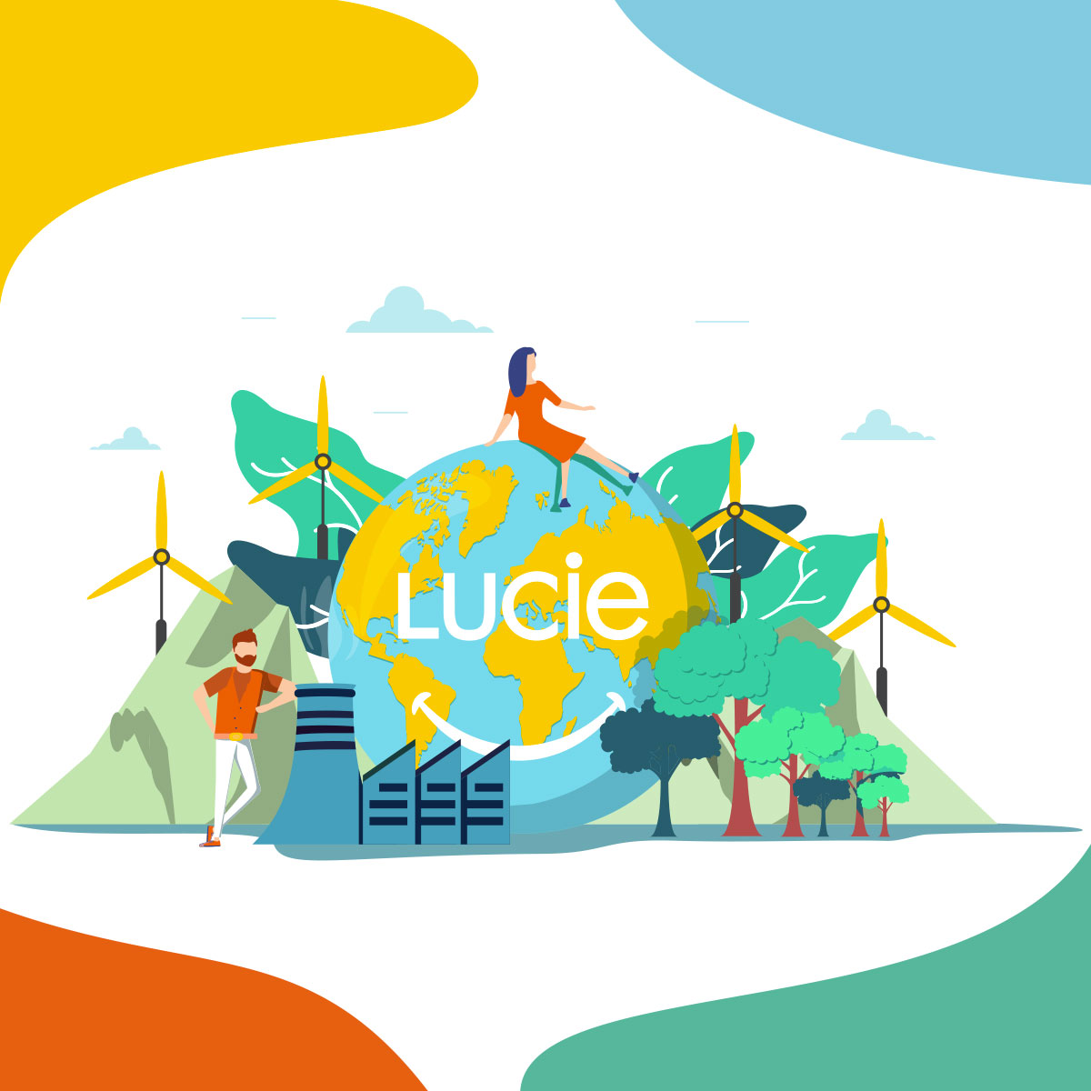 Affiche convention LUCIE 2020 - Agence LUCIE