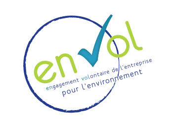 logo label EnVol - Agence LUCIE
