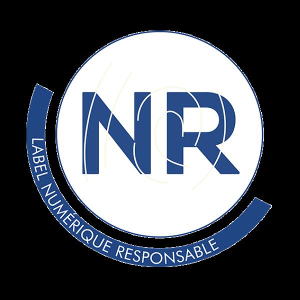 logo du label numérique responsable - Agence LUCIE