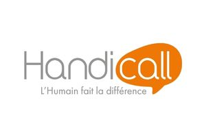 Logo Handicall - Agence LUCIE