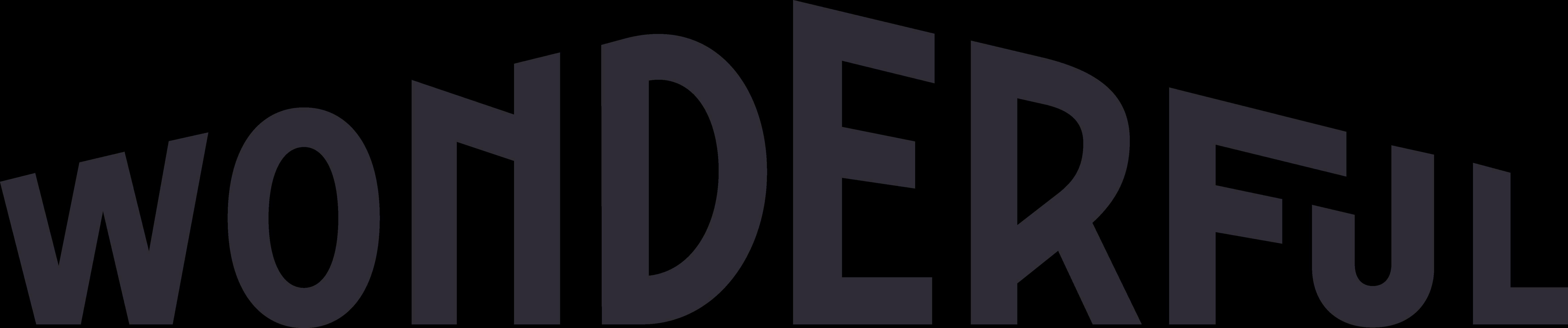 logo Wonderfull - Agence LUCIE