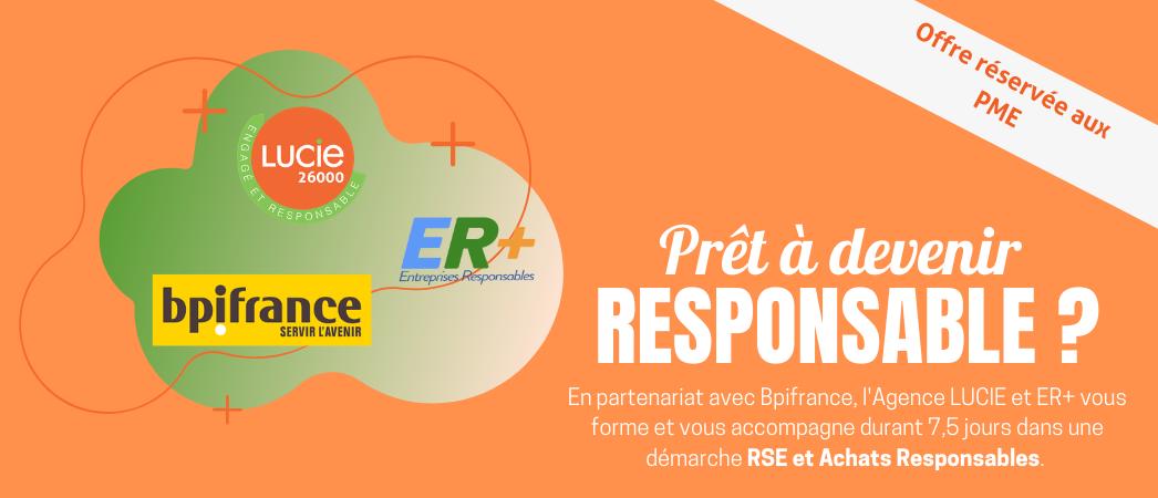 PME, participez à l'accompagnement RSE – achats responsable de LUCIE et ER+