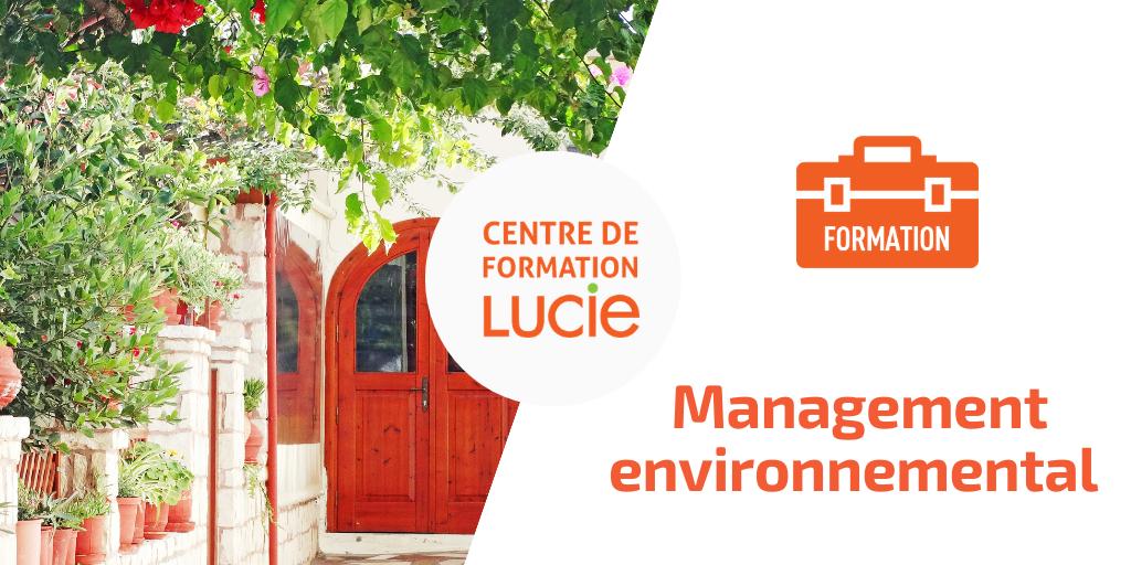 """Affiche formation """"développement durable en hébergement touristique"""" - management environnemental"""